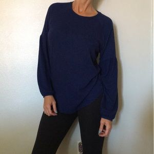 {Old Navy} deep blue sweater size M